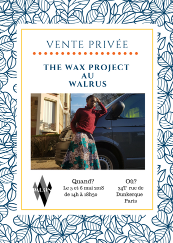 The Wax Project X Walrus